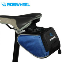 ROSWHEEL Bicycle Bag Rainproof Saddle Bag Outdoor Cycling Mountain Bike Back Seat Tail Pouch Maintenance Tool Bags 3 Colors