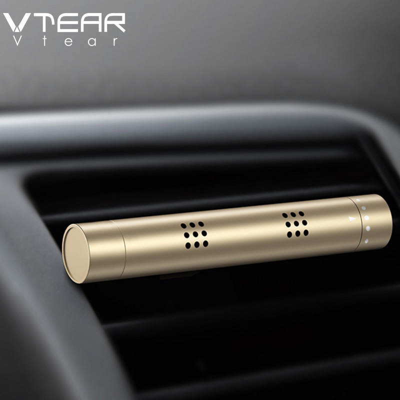 Vtear car perfume car air freshener in the car air Conditioning outlet perfume Clip Magnet Diffuser Solid Perfume Car Styling