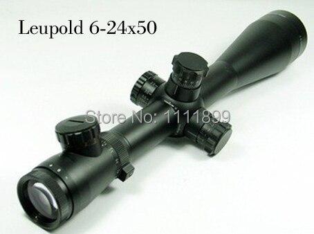 Leupold Mark4 M1 6-24x50 R & G Rifle optique lumineux portée W / Rings11mm ou 21 mm