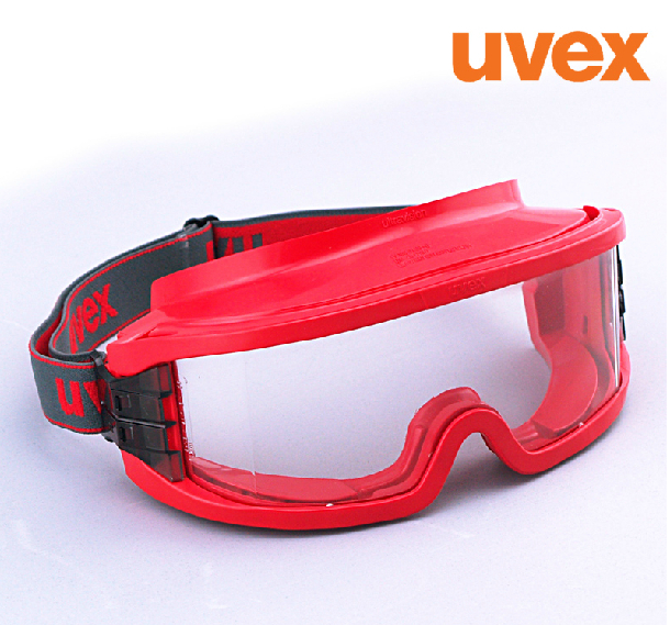 ФОТО Protective glasses Uvex 9301603 blindages painting protection goggle against Fire heat shock proof goggles polished splash G5642