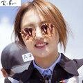 RTBOFY Design Da Marca Aviador Óculos De Sol Das Mulheres Redondas Retro Óculos de Sol Da Marca Para As Mulheres Lady Feminino Óculos De Sol Espelho de Condução Óculos
