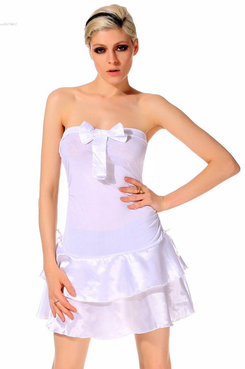 Online Get Cheap Cheap White Strapless Dress -Aliexpress.com ...