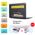 Minions Movie 2015 Crystal Laptop Case For Macbook Air 13 Case Air 11 Pro 13 15 Retina For Mac Book Air 13 Case New 12 Inchs