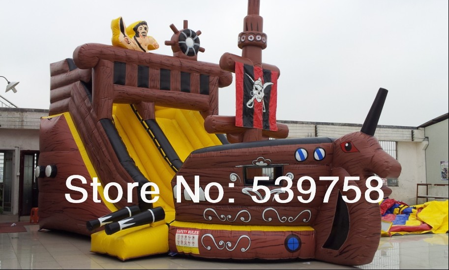 The latest inflatable slides, inflatable castles, Inflatable Bouncer, Inflatable pirate ship