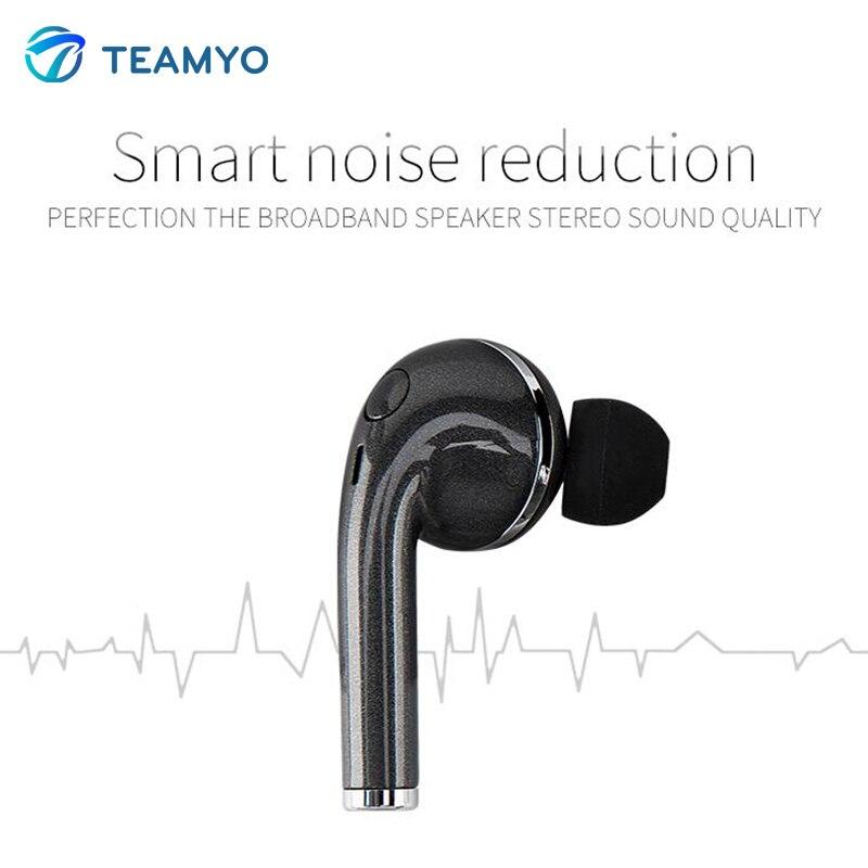Купить Teamyo V1 Headphones Noise Isolating Sport Wireless Headphones Bluetooth Noise Canceing For Xiaomi Iphone Mobile Phone