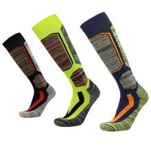 JINXIUSHIRT Winter Warm Men Women Thermal Long Ski Socks Thicker Cotton Sports Snowboard Climbing Camping Hiking  Socks 1704001