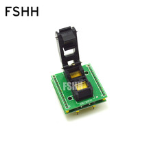 CNV-SOP30/SSOP30 to DIP programmer adapter/IC Test Socket High quality clamshell double-layer circuit board