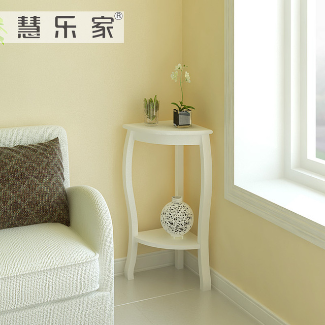 white living room side table furniture benches hui roca korean garden corner wood a few small coffee telephone 33053