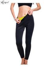 Pantalones de rodilla de neopreno con forma de cuerpo de moda para mujer