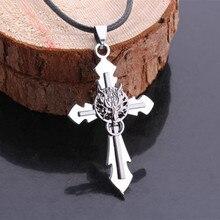 Final Fantasy Wolf Head Necklace