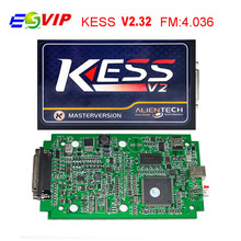 Newest No Token Limit KESS V2 V2.32 OBD2 Manager Tuning Kit Kess V 2 Master FW V4.036 Master version 2.32 ECU Chip Tuning Tool
