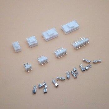 10 juegos de conectores VH 3,96mm 2P 3P 4P 5P 6 pines macho + carcasa hembra + terminales VH3.96