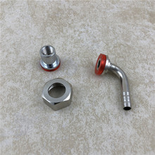 Homebrew Kegged Beer Tap Shank Quick Disconnect Adapter Convert Tail Elbow Nuts & Gasket for Draft Faucet Brewing