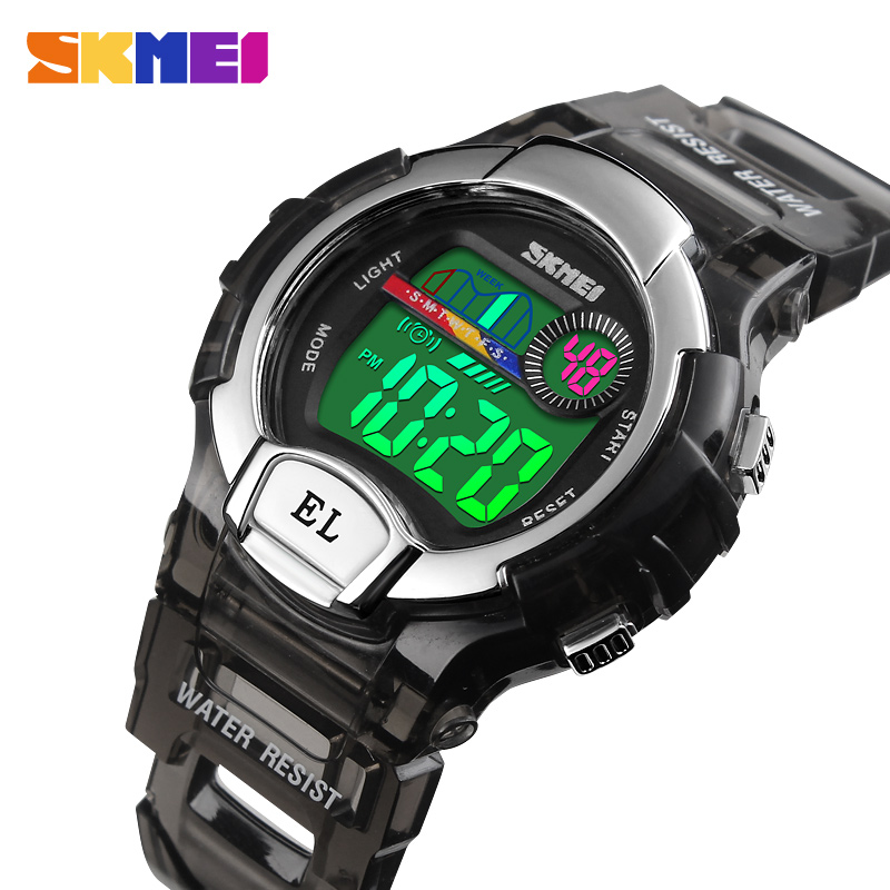 Children Watch Fashion Kids Watches Boys Alarm LED Digital Watch For Kids Children Student Waterproof Wristwatch Relojes SKMEI