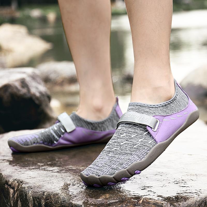 Women Aqua Shoes Summer Beach Ladies Sport Upstream Sneakers Lightweight Quick Dry Women ...