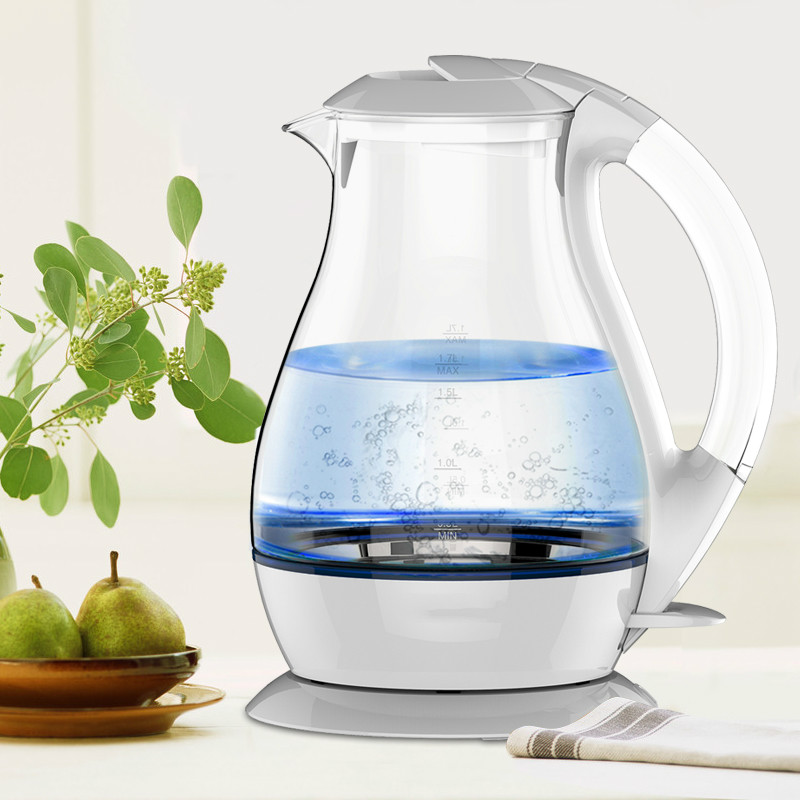Electric kettle/glass electric kettle 304 stainless steel large capacity home automatic power off цена