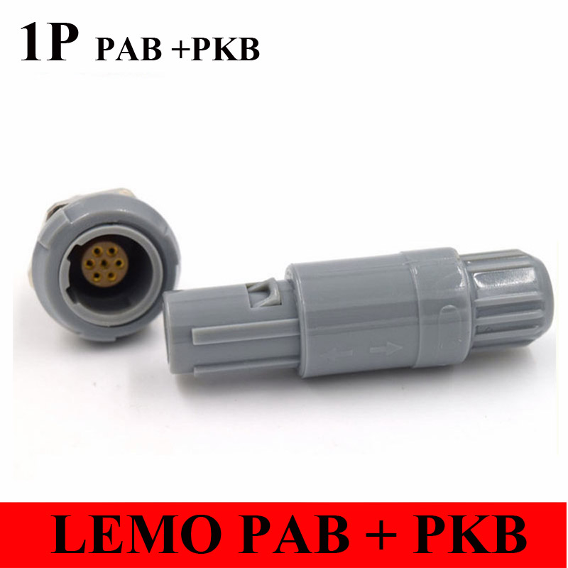 LEMO 1P Connector PAB PKB 2 3 4 5 6 7 8 9 10 14 Pin Connector LEMO PAB PKB REDEL 1P Two Keying 60 Degree Plug Socket number