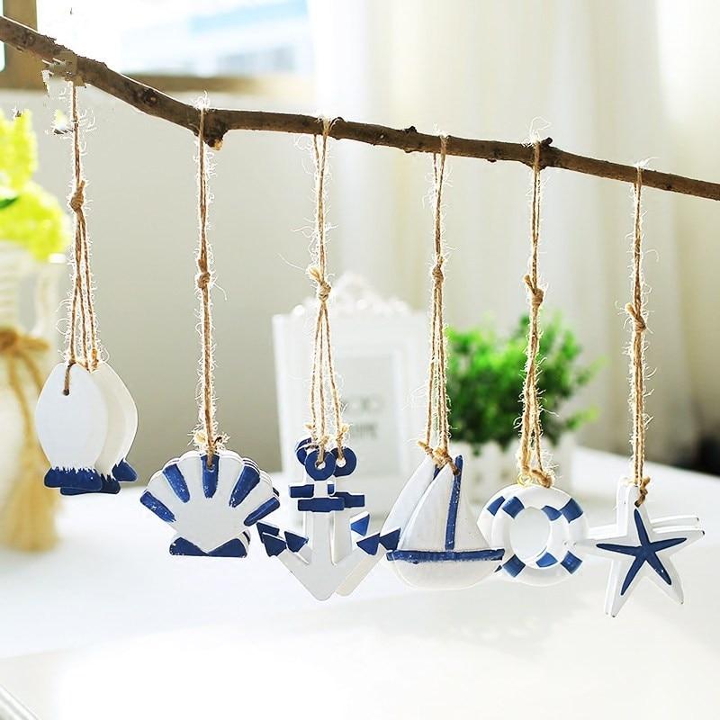 Creative Mediterranean Style Starfish Hung Fish Nautical