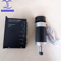 48VDC 500W CNC Brushless Motor Driver Without Hall with Machine BL Engraver Spindle High Speed ER11 or ER16