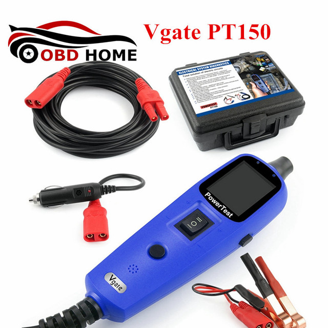 Vgate Scan Pt150 Car Electric Tester Multi Functional Automobile Auto Electrical System Diagnostic Tool