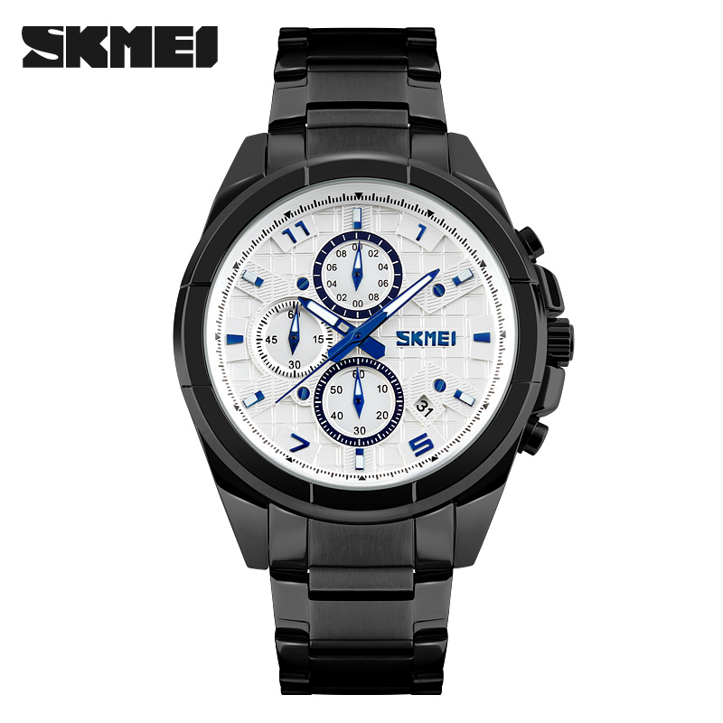 2017 Luxury Brand Military Watch Men Quartz Analog Clock Full Steel Clock Man Sports Watches Army Relogios Masculino skmei luxury brand military watch men quartz analog clock nylon strap clock man sports watches army relogios masculino