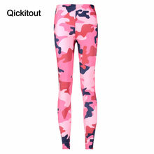06a9ce3a2a4a19 HOT Sexy Fashion Slim Womens Pirate Leggins Pants Digital Printing CAMO  PINK LEGGINGS - LIMITED Woman Leggings