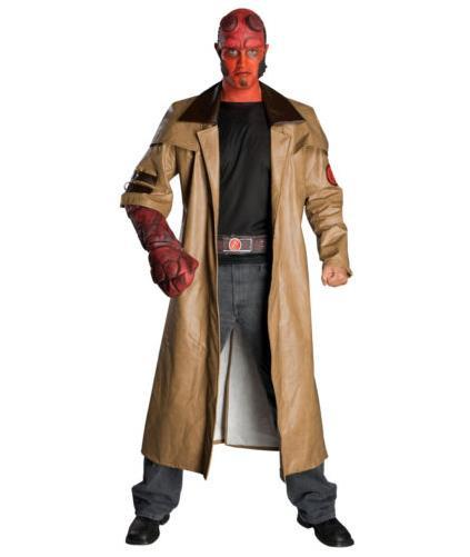 free shipping halloween hellboy hell boy army cosplay costumes only faux leather overcoat on aliexpresscom alibaba group