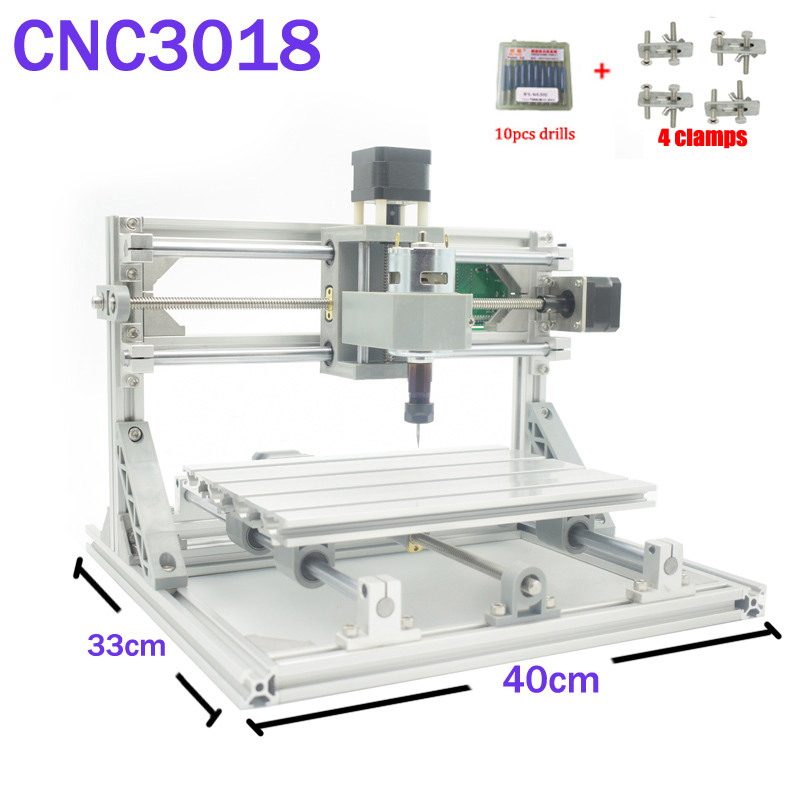 CNC 3018 ER16 GRBL control Diy CNC machine 3 Axis pcb Milling machine Wood Router laser