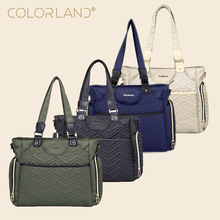 COLORLAND Mommy Handbag Infant Diapers Bag High Quality Maternity Single Shoulder Bag To The Hospital Multifunctional Nappy Care