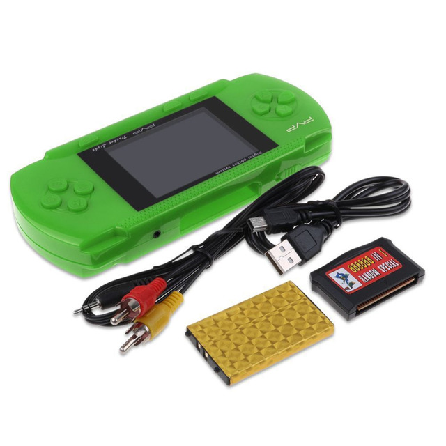 "PVP 3000 Handheld Game Player Built-in 89 Games Portable Video 2.8"" LCD Handheld Player For Family Mini Video Game Console"