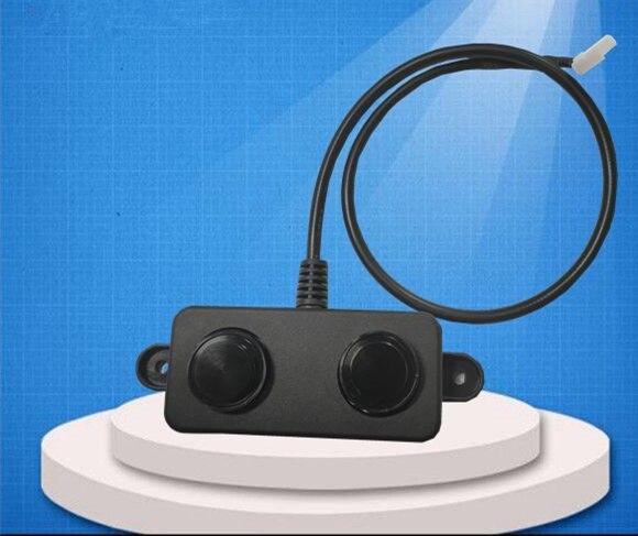 PWM ou UART DC5V Ultrasonic sensores ultra-sônicos variando ultrasonic módulo distância sensor de sonda à prova d' água à prova d' água