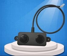 PWM veya UART DC5V ultrasonik değişken sensörler ultrasonik su geçirmez mesafe sensörü su geçirmez probe ultrasonik sensör modülü