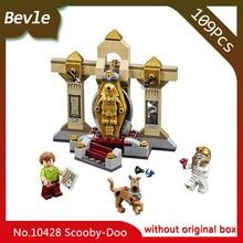 Bevle Store Bela 10428 109pcs Scooby Doo Series Mummy Museum Model Building Blocks Set Bricks For Children Toys LEPIN 75900