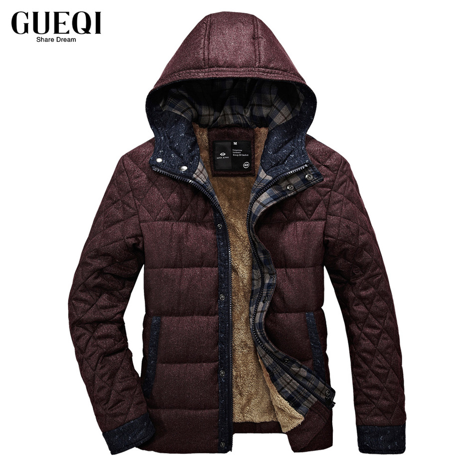 Подробнее о GUEQI 2017 Men New Winter Jacket Brand Clothing Warm Casual Solid Men's Popular Hooded Parkas For Male Jackets Outwear Coats 460 gueqi 2017 men winter jacket brand clothing warm fashion casual solid men s popular parkas for male jackets outwear coats 6867