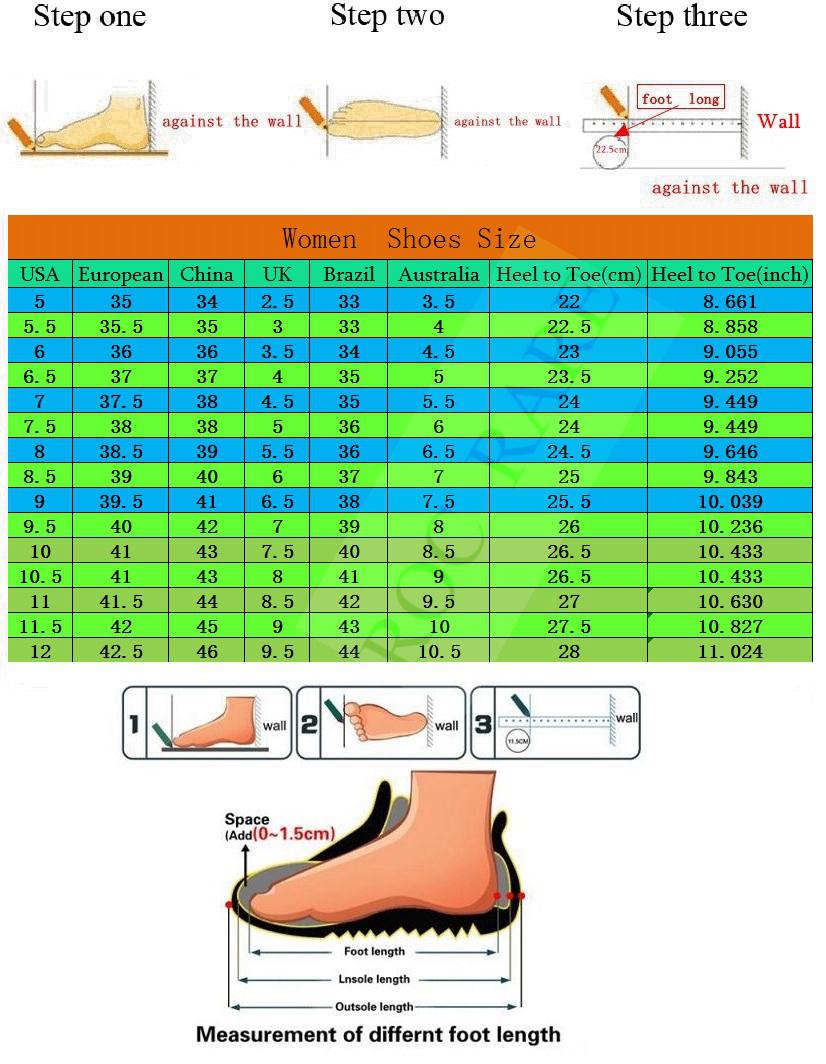 YJM's  size  Chart