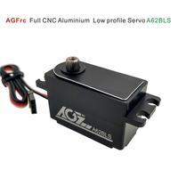 AGF A62BLS Full CNC Aluminium Case LOW Profile 12Kg Torquer Brushless Motor Servo for 1:8 RC Car