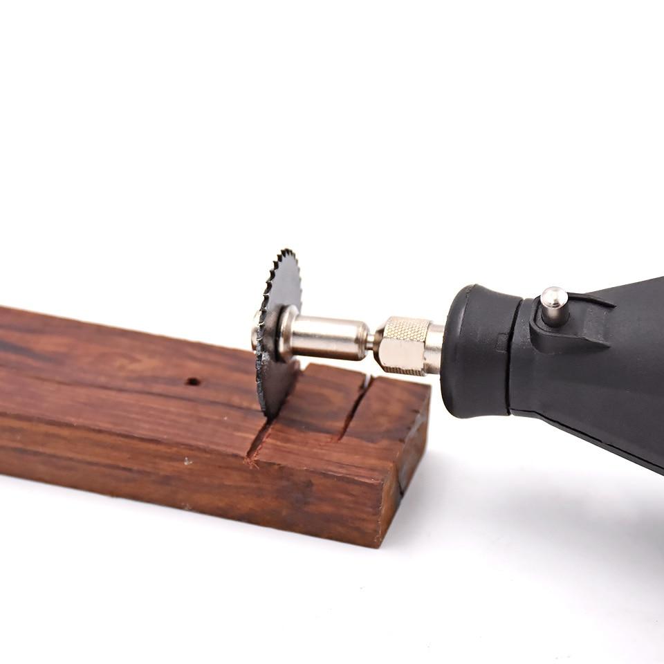 6pc HSS Lame per seghe circolari Lame per taglio del legno in metallo - Lama per sega - Fotografia 2