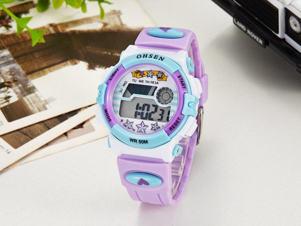 Hot OHSEN Children Watch Boys Life Waterproof Digital LED Sports Watch Kids Alarm Date Casual Watch Gift Hombre Reloj Deportivo (20)
