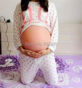 Силиконовые искусственные живота для беременных, тест на беременность большого размера, 4000 г, 10 см, бесплатная доставка