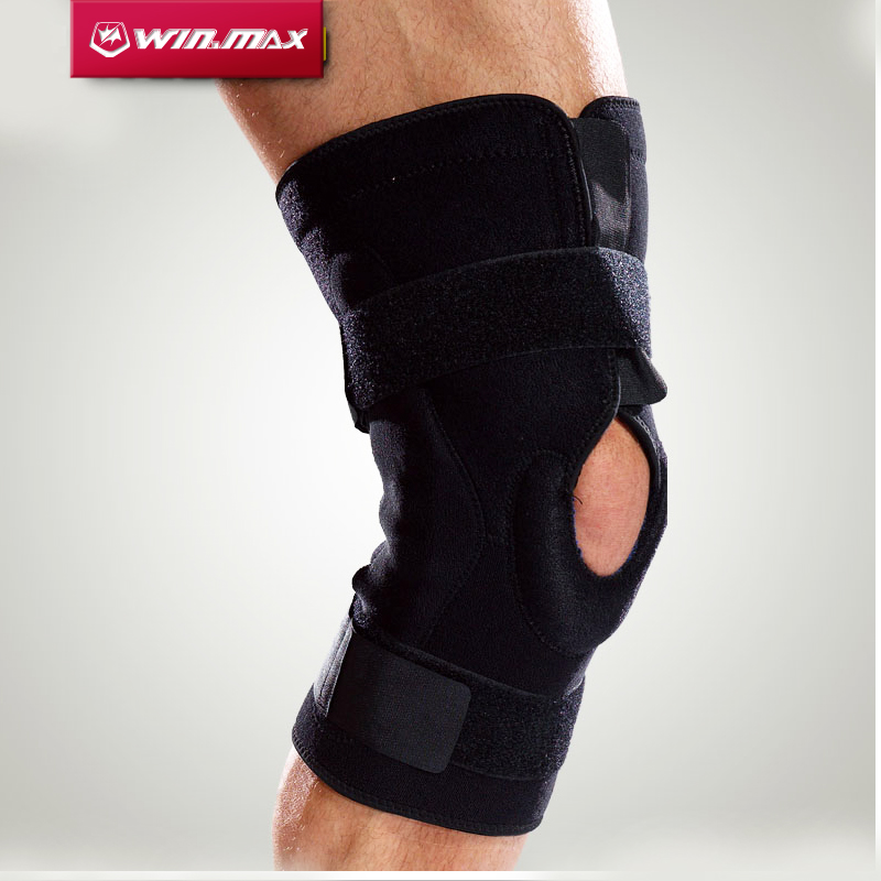 Winmax Professional  Protection for The Sports Hinged Knee Brace Adjustable Sports Leg Knee Support Knee Pads