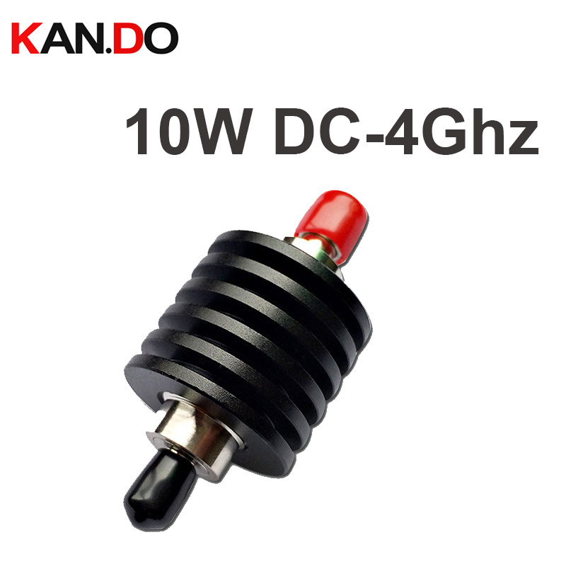 5PCS LOT 10W 4Ghz RF attenuator SMA male to sma female DC 4G 1 40DB attenuation