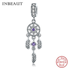 INBEAUT Hot Sale 100% 925 Sterling Silver Pendant Dream Catcher Charm fit Original Charm Bracelets & Necklaces Jewelry Gift