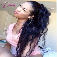 Natural Wave Brazilian Virgin Hair Lace Front Human Hair Wig Natural Color Silk Top Lace Front Wig With Baby Hair