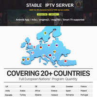 SATXTREM 6 12 Months 1400 Live TV IPTV M3U ENIGAM2 Androd IPTV ITALY German French Spain