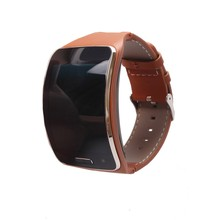 VIGOSS Hot Selling Genuine Leather Watch Band For Samsung Gear S Strap Wristband For SAMSUNG GEAR