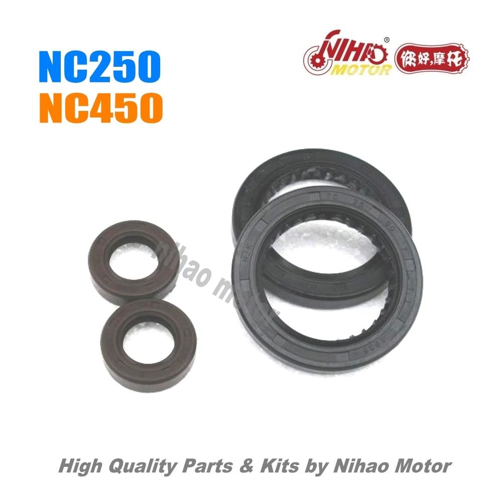 23 NC250 NC450 Запчасти уплотнитель для масляного канала коленчатого вала  ZS177MM двигатель zhogshen