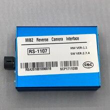 Plug And Play Установка Фронтальная камера и сзади Камера в автомобильный видео интерфейс для Audi A3 Sportback(8 V) аксессуары