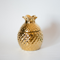 Europe Style Ceramic Pineapple Storage Box Creative Jewelry Box Sugar Bowl Tea Bag Storage Box Canister