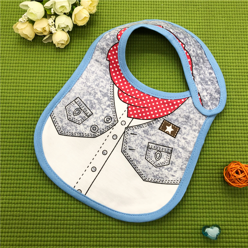 100% Cotton Baby Bibs Waterproof Bandana Baby Girls boys Bibs & Burp Cloths Baby Clothing Product Towel Bandanas Wholesale DS19 5