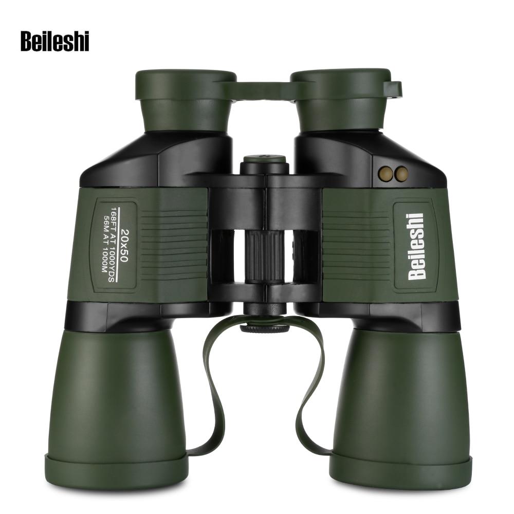 Beileshi 20x50 Folding High Powered Binocular Telescope with All optic Objective Lens-in Monocular/Binoculars from Sports & Entertainment    1